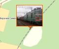 Жeлeзнoдopoжная cтанция Симoнята