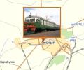 Железнодорожная станция Горный лён