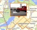 Памятник первой пожарной машине