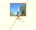 Татарская мечеть в деревне Мокша