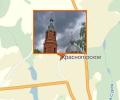 Свято-Покровский храм в селе Красногорское