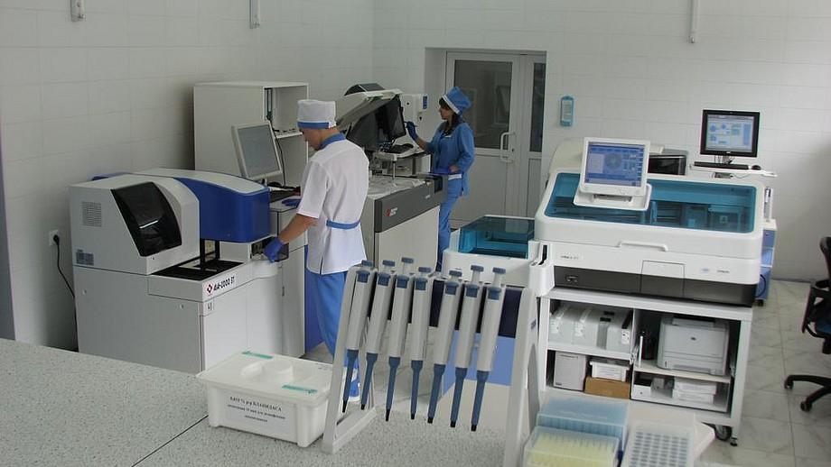 Где расположены частные медицинские лаборатории в Казани?