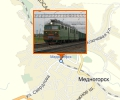 Железнодорожная станция Медногорск