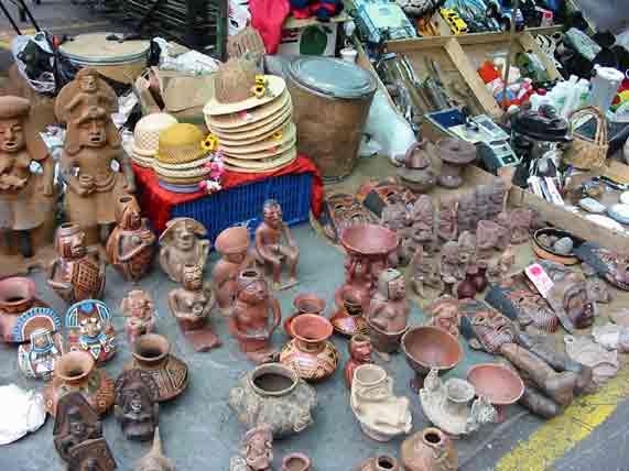 Где находятся блошиные рынки в Казани?
