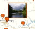 Где находятся места для рыбалки в Н.Новгороде?