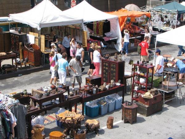 Блошиные рынки и брахолки Самары