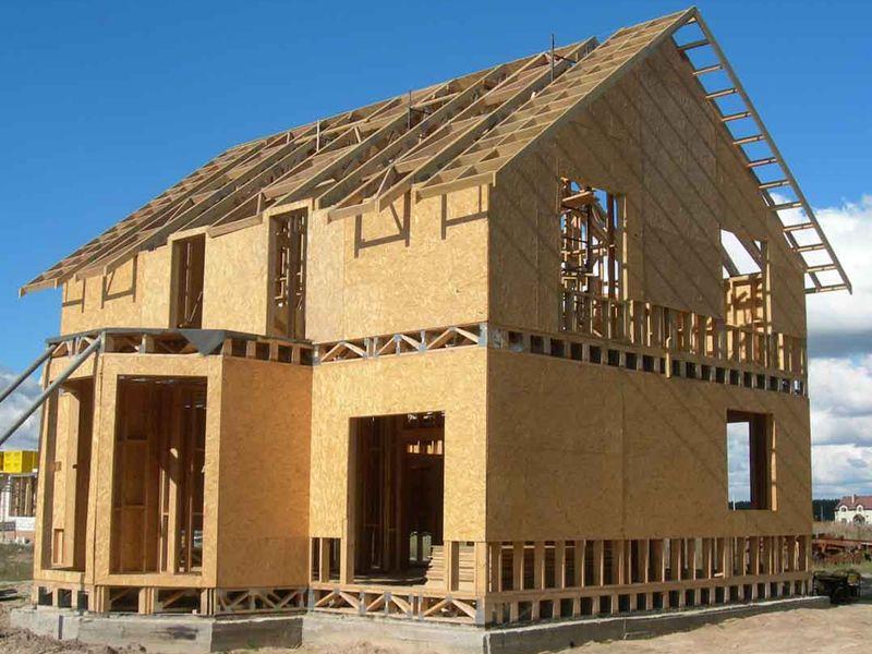 Строительство каркасных домов (каркасное домостроение) в Казани