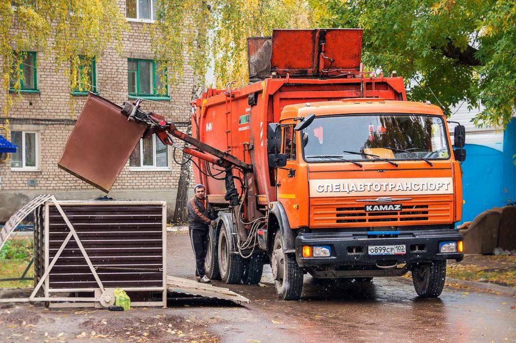 Куда обратиться для вывоза строительного и бытового мусора в Казани?