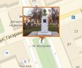 Памятник М.Ф. Мусоровой