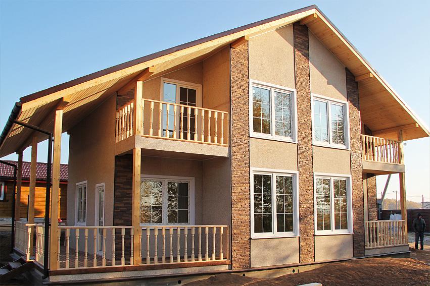 Строительство каркасных домов (каркасное домостроение) в Самаре