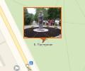 Памятник Борису Пастернаку